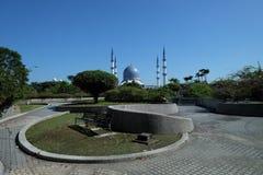 Mesquita Sultan Salahuddin Abdul Aziz Shah Selangor Malásia Fotografia de Stock