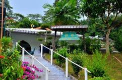"""Mesquita tradicional Singapura da vila do """"kampong"""" Imagens de Stock"""