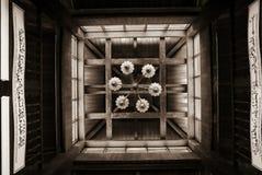 Mesquita velha com candelabro Fotos de Stock