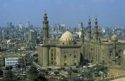 MESQUITA VELHA DE SULTAN HASSAN DA CIDADE DE ÁFRICA EGIPTO O CAIRO Fotografia de Stock Royalty Free