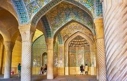 A mesquita velha de Vakil, Shiraz, Irã Fotografia de Stock Royalty Free