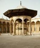 Mesquita velha na citadela no Cairo fotos de stock