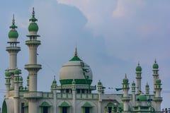 A mesquita verde na praia de Vizhinjam de Trivandrum imagens de stock royalty free