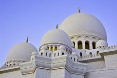 Mesquitas UAE do Sheikh Zayed Fotos de Stock