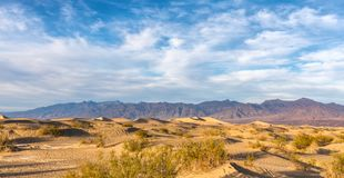 Dunes in Death Valley, California, USA Stock Image