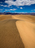 Mesquite Dunes desert in Death Valley National Park Royalty Free Stock Photography