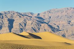 Mesquite Flat Dunes Death Valley Stock Images