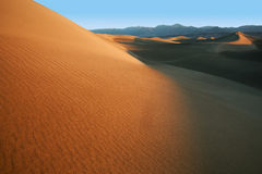 Mesquite Flat Sand Dunes Royalty Free Stock Images