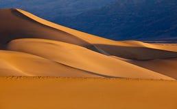 Mesquite Flat Sand Dunes Stock Photos