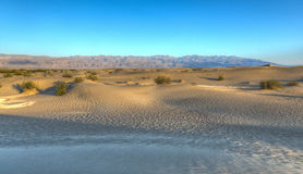 Mesquite Flat Sand Dunes, Death Valley Stock Images