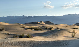 Mesquite Flat Sand Dunes, Death Valley Royalty Free Stock Image