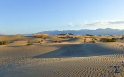 Mesquite Flat Sand Dunes, Death Valley Royalty Free Stock Photography