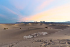 Mesquite Flat Sand Dunes Royalty Free Stock Photo