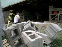 Mess da construção Imagem de Stock