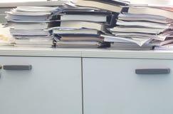 Mess dell'ufficio Fotografia Stock