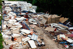 Mess after disaster Stock Images