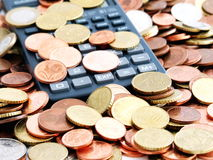 Mess financeiro Foto de Stock
