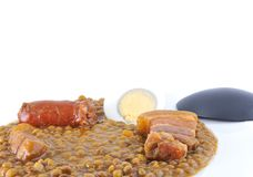 Mess of pottage. Royalty Free Stock Photos