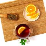 Messa a punto del tè Immagini Stock