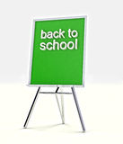 Message for all students on school blackboard Royalty Free Stock Photography