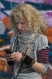 message avec texte urbain Photos libres de droits