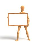 Message board. (computer generated image Stock Illustration