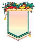 Message board decoration Stock Image