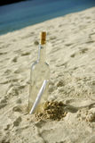 Message In Bottle Stock Images
