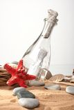 The message in a bottle Stock Photo