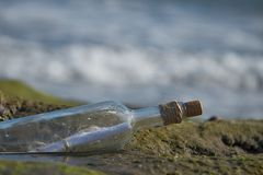 Message in bottle Royalty Free Stock Images