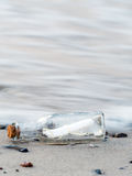 Message in the bottle Royalty Free Stock Photo