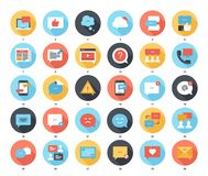 Message Bubbles Icons Royalty Free Stock Image