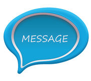 Message and chat icon Royalty Free Stock Photos