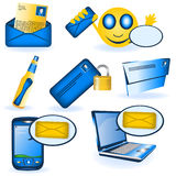 Message collection Royalty Free Stock Photography
