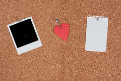 Message Cork Board Royalty Free Stock Image