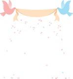 Message d'oiseau Image stock