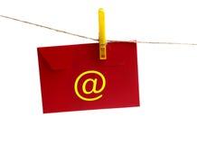 Message de courrier Image libre de droits
