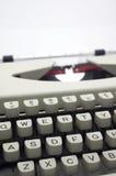 Message de machine à écrire Photo libre de droits