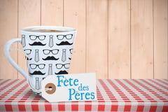 Message de Peres de fête Photographie stock