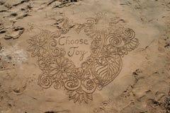 Message de vacances image stock