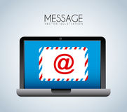 Message Royalty Free Stock Image