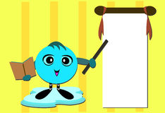 Message Dot Teaching Class Stock Image