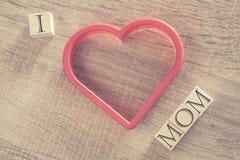 Message du jour de mère Photos libres de droits