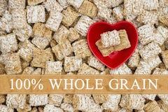 Message entier de céréale de grain Photo libre de droits