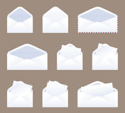 Message in an Envelope Stock Images