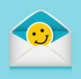 Message in an envelope Royalty Free Stock Photography
