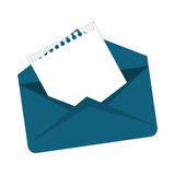 Message envelope mail related icons image. Illustration design Stock Images