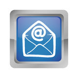 Message envelope mail related icons image Stock Photo