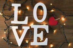 Message et concept d'amour photos libres de droits