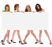 Message from girls Stock Image